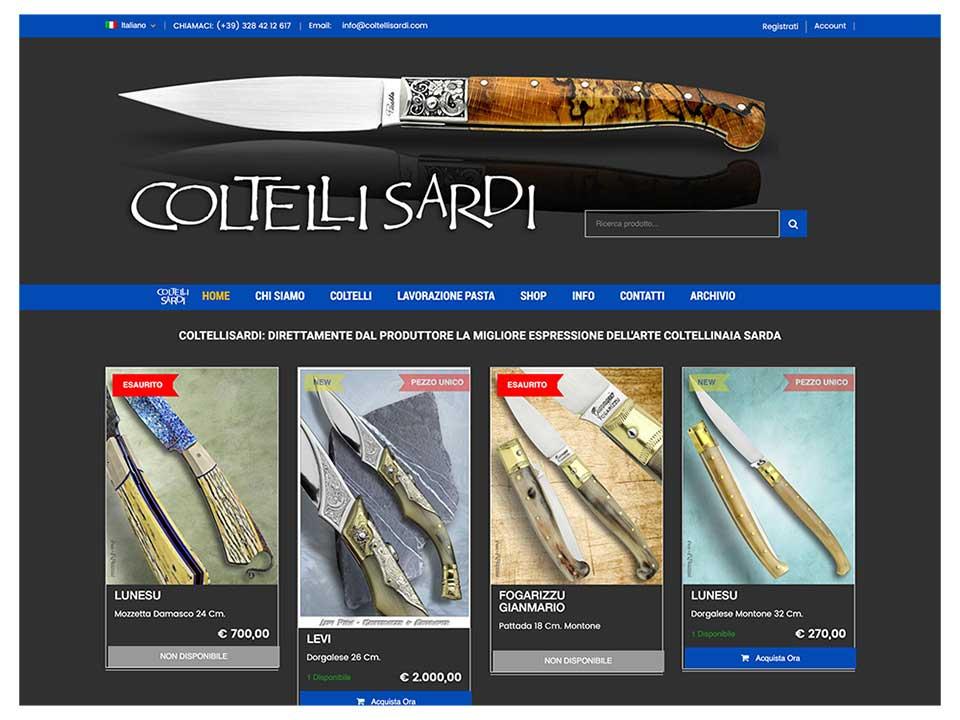 coltellisardi.com sito web