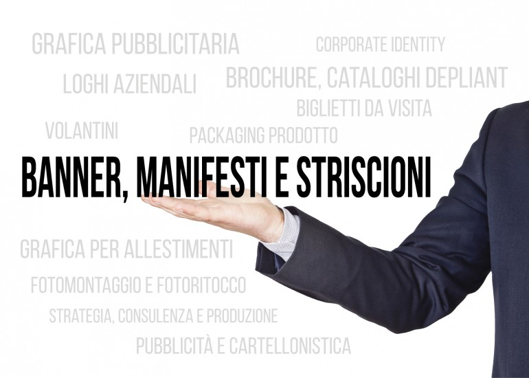Banner, Manifesti e Striscioni